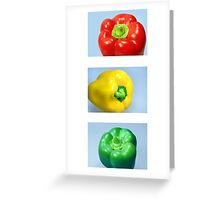 Traffic Light Food Labelling Greeting Card
