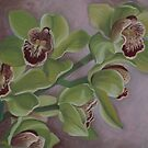 Orchids by Martha Mitchell
