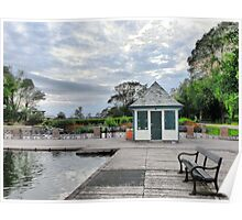 The Boating Lake Kiosk. Poster