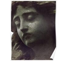 Norwood cemetary: Sculpture: Head -(220811a)- Digital photo Poster