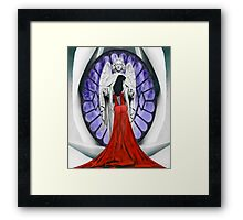 Stranger to Holiness Framed Print