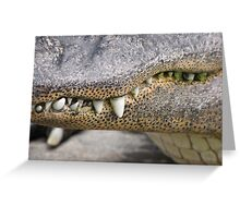 show me your teeth Greeting Card