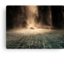 Lord of the Rings Waterfall Canvas Print