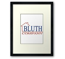 The Bluth Company Framed Print