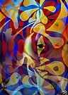 Acrylic Abstract Multi-colour Scheme by Grant Wilson