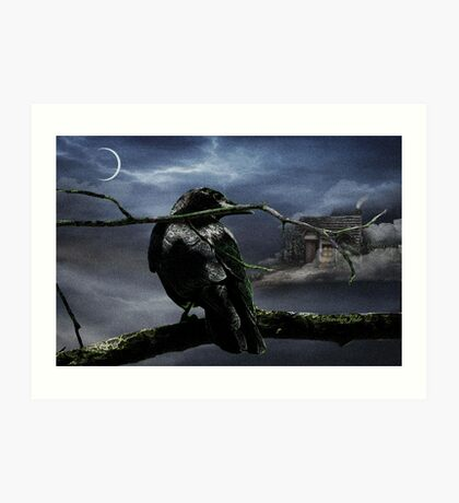 """Quoth The Raven, """"Nevermore"""" Art Print"""