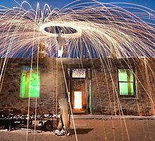 Fire Flies Ruin by Shannon Rogers