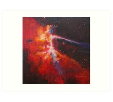 Cygnus Loop Art Print