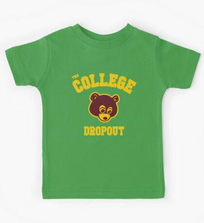 Bear Dropout Kids Tee
