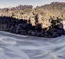 The Flow - Cataract Gorge by Ben Swanson