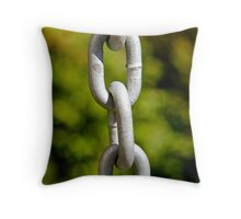 The missing link... Throw Pillow
