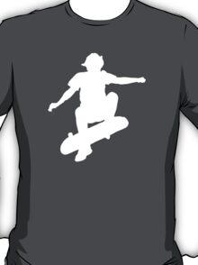 Skater Large - White T-Shirt