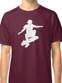 Skater Large - White Classic T-Shirt