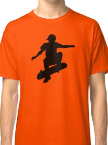 Skater Large - Black Classic T-Shirt