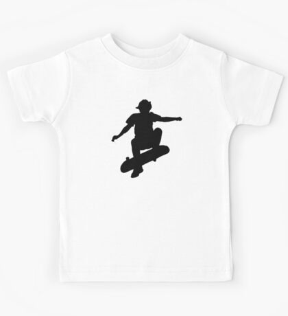 Skater Large - Black Kids Tee