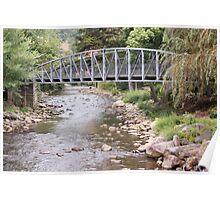 Water Below the Bridge Poster