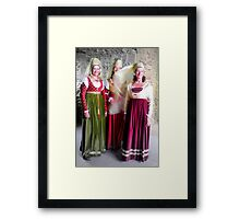 Urquhart Castle Ladies Framed Print