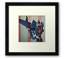 Thundercracker Portrait Framed Print