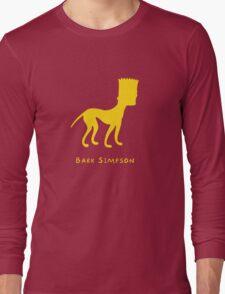 Bark Simpson Long Sleeve T-Shirt