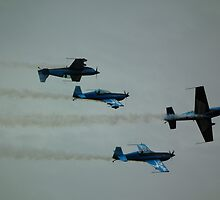 The Blades crazy flying by mike  jordan.