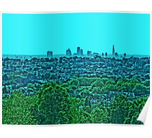 London Vista by Tim Constable Poster