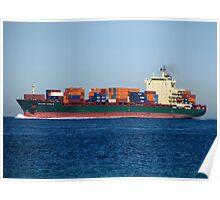 Ocean Cargo Poster