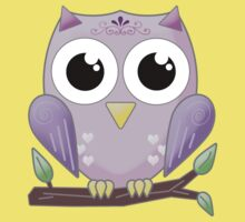 Bright Eyed Owl Kids Clothes