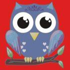 Bright Eyed Owl 2 by RubyFox