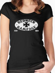 redneck rampage logo 2 Women's Fitted Scoop T-Shirt