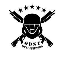 ODST HELLJUMPER INSIGNIA HALO by SourKid