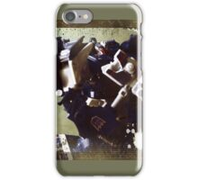 Breakdown Portrait iPhone Case/Skin