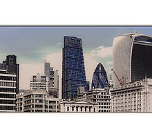 City of London Skyline by Tim Constable