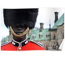 Ceremonial Guard of the Canadian Forces Poster