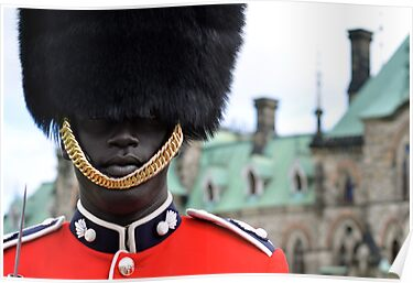 Ceremonial Guard of the Canadian Forces by Valerie Rosen