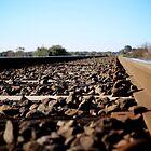 Railroad Tracks by J.B. Johnston