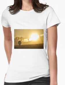 """""""The Golden Calf"""", Yarra Valley, Victoria, Australia Womens Fitted T-Shirt"""