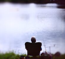 Old Man and the Pond by julianhbarnes