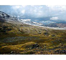 snowy slopes Photographic Print
