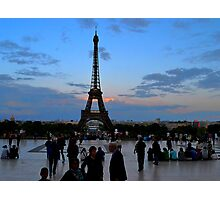 Trocadero Plaza Photographic Print