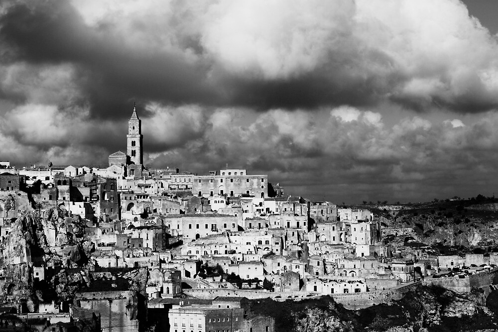 Matera, Italy by julianhbarnes