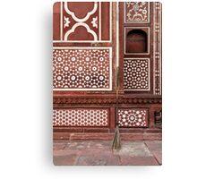 Gate of the Mausoleum of Itmad-ud-Daula, Agra Canvas Print