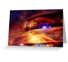 Space Port 21649 Greeting Card