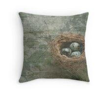 Nest Series:  3 Throw Pillow