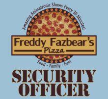 Freddy Fazbear's Pizza - Security One Piece - Short Sleeve