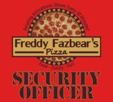 Freddy Fazbear's Pizza - Security Kids Tee