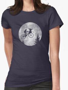B.F.F. Womens Fitted T-Shirt