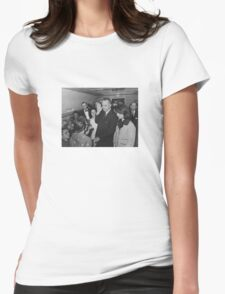 LBJ Taking The Oath On Air Force One Womens Fitted T-Shirt