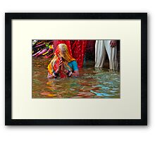 Religious Faith-10/2011 Framed Print