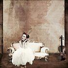 Lady in Waiting... by Karen  Helgesen