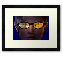 Virtual reality glasses Framed Print